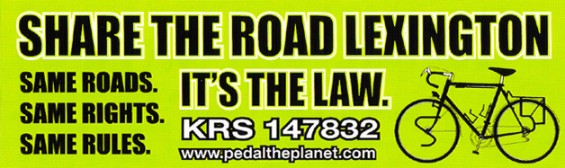 Share The Road Lexington